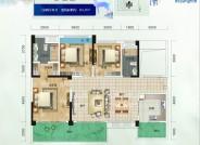 蓝花屿A1三室