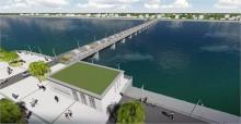 投资近亿元 青衣江路水闸预计10月开建