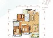 建筑面积约113㎡三房两厅双卫