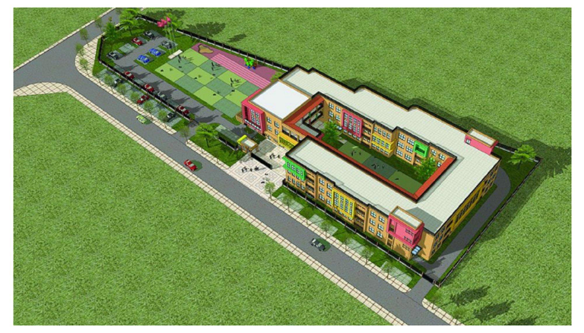 德阳城区新添数个公立幼儿园,家门口的业主笑嘻嘻