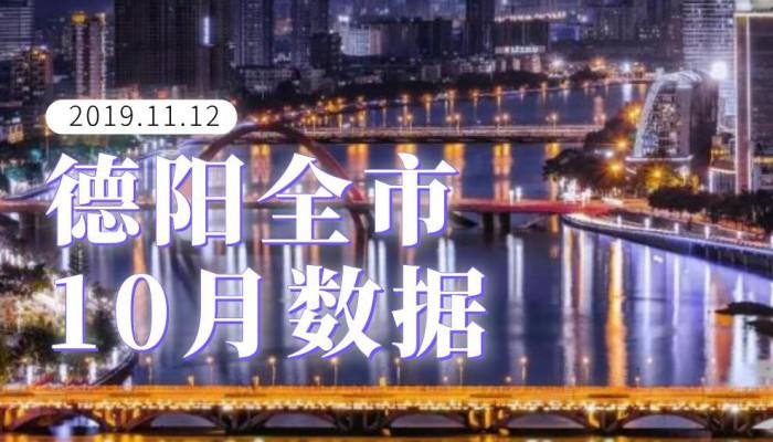 德阳全市10月数据:同比涨幅提速,均价5730元/㎡再破记录