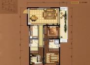 C4建筑面积约113㎡三室两厅两卫