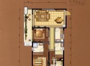 C6建筑面积约113㎡三室两厅两卫
