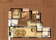 C5建筑面积约108㎡三室两厅两卫