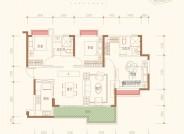 A三室两厅两卫建筑面积约122.48㎡
