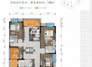 B1建筑面积约130㎡四室两厅两卫
