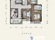 B3建筑面积约108㎡三室两厅两卫