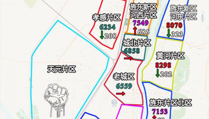 德阳楼市3月房价地图和成交排行榜,5字头到8字头,你买得起哪里?