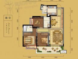 B2建筑面积约114㎡三室两厅两卫