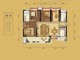 B1建筑面积约134㎡四室两厅两卫