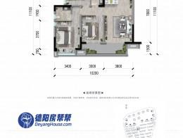 高层A-3A 110㎡三室