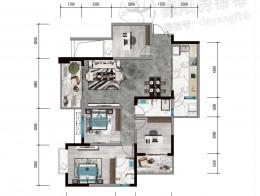 A5建筑面积约126㎡四室两厅两卫