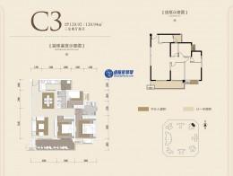 C3 三房 120㎡