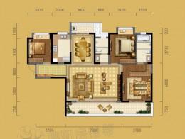 A2建面约155㎡三房两厅两卫