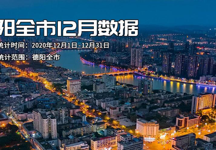 德阳全市12月数据报:均价狠心上涨4.26%,供应90.2万方高耸入云