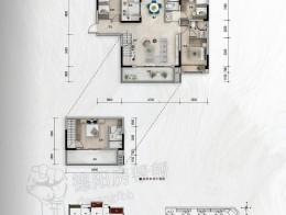 建面约143㎡四房两厅三卫