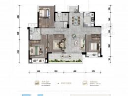 E 建面约126.98㎡ 四室两厅两卫