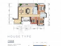 C2 建面约122㎡ 三室二厅二卫