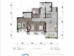 F 建面约116.98㎡ 四室两厅两卫