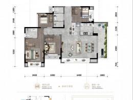 H 建面约133.53㎡ 四室两厅两卫